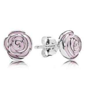 🔥Pandora🔥 Heart Silver Stud Earring
